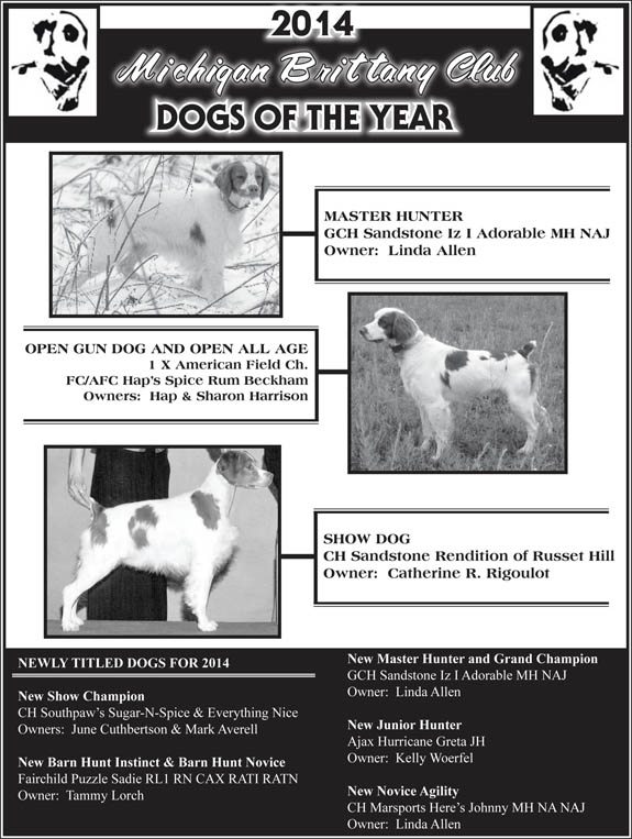 MBC Dogs of the Year 2014